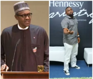 Singer Azadus says Buhari is Nigeria's Messiah