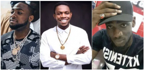 Davido's friends, DJ Olu and Chime