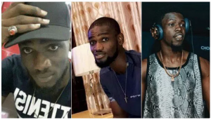 Davido's friends, Chime and DJ Olu