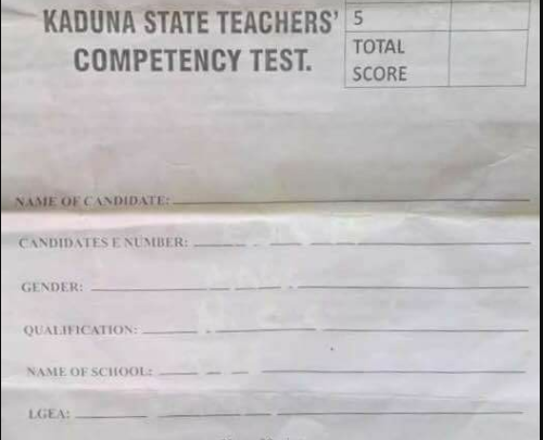 See Primary 4 questions 21,780 teachers failed