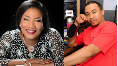 OAP Freeze reacts to Funke Adejumo