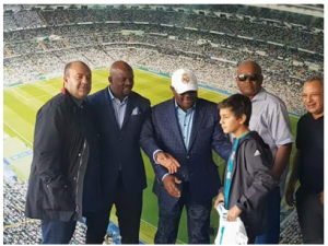 Nigerians react as Real Madrid