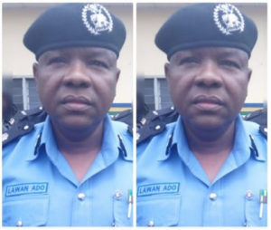 How police officers in Kwara