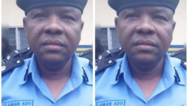 How police officers in Kwara