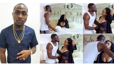 Photo of 'E use style sweet' – Davido reacts to Peter Okoye's new solo music video