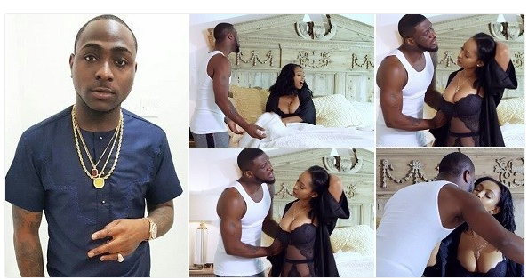 NAIJA.FM 'E use style sweet' - Davido reacts to Peter Okoye's new solo music video