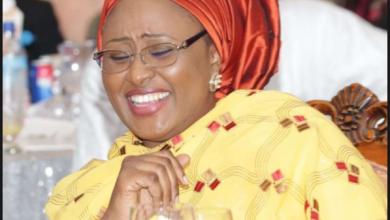 Photo of Aisha Buhari replies Senator Misau over allegations of SUV gifts from IGP