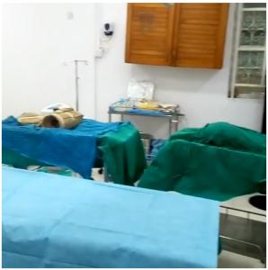 Cossy Ojiakor in hospital for butt