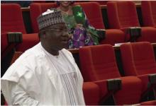 Senate leader Ahmed Lawal