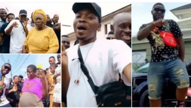 Photo of 'Agolo': Yes I copied Olamide's 'WO', he inspires me – Skales replies critics