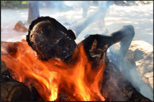 Muslim man sets son ablaze