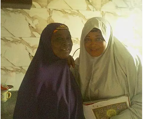 Igbo woman who converted to Islam