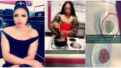 Photo of Bobrisky represents Nigeria for cooking show in Ghana, Nigerians react [PHOTOS]
