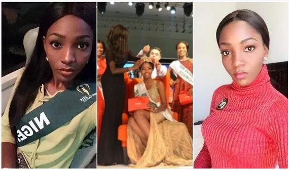Miss Nigeria Chioma Obiadi
