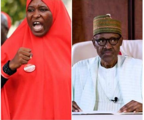 Aisha Yesufu blasts Buhari