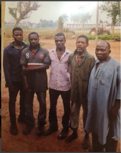 Three friends at man's burial confess