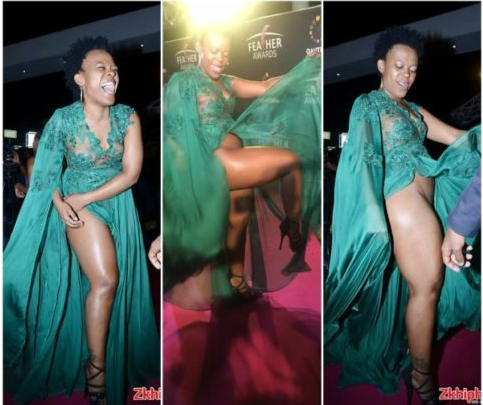 Zodwa Wabantu shows off