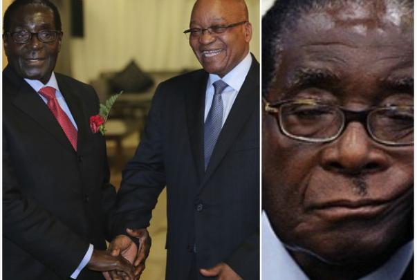 Robert Mugabe in detention