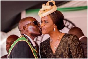 Mugabe's Gucci addicted wife Grace