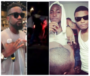 Davido and Wizkid fight
