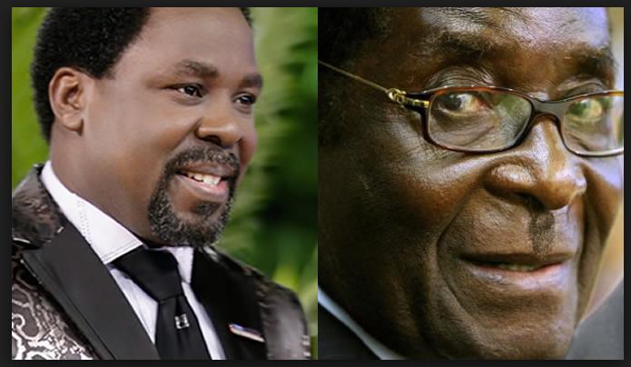 How TB Joshua prophesied Mugabe's