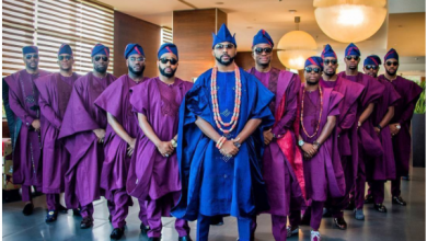 Adesua Etomi & Banky W's traditional wedding