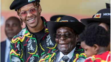 Photo of You can't fire my dad – Robert Mugabe's son dares Military