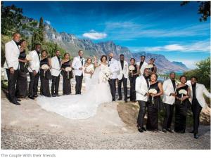 Banky W weds Adesua