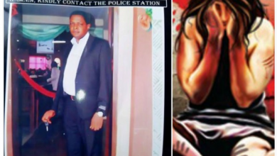 Photo of Father of 6 declared wanted for raping wife's sales girl