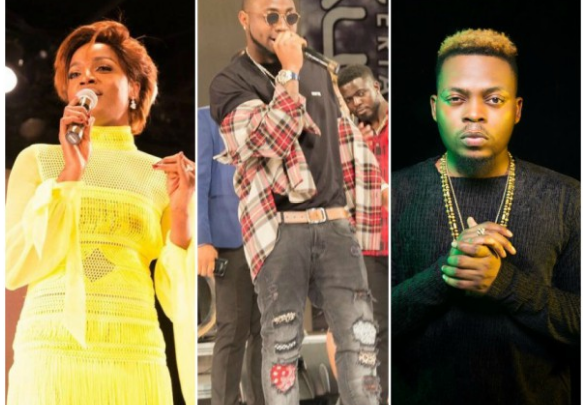 Nigerian Entertainment Awards: Davido, Olamide, Seyi Shay win big