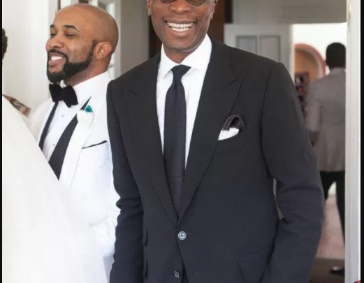 Pastor Tony Rapu gives Banky W marriage advice
