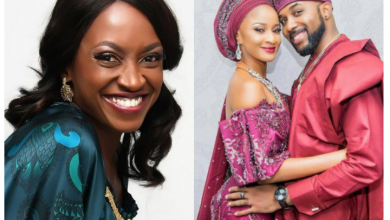 Kate Henshaw reacts to Adesua's naked photo