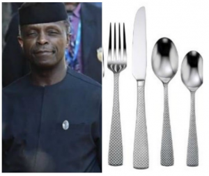 2018 budget: VP Osinbajo's kitchen