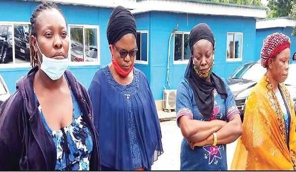 NAPTIP arrests four women