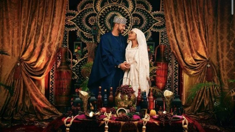 Hanan Buhari's wedding