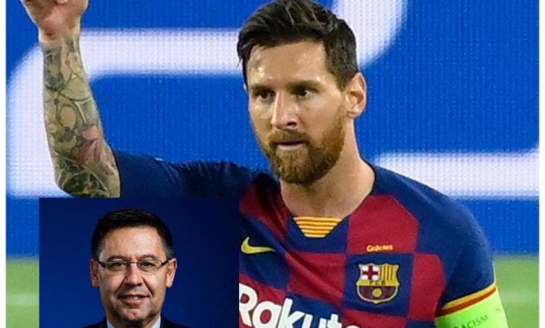 Lionel Messi set to take paycut