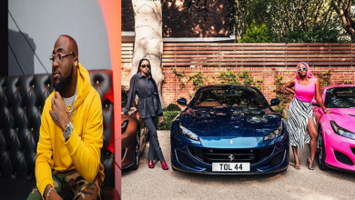 Photo of Davido reacts to DJ Cuppy's new Ferrari, what he said will make your day