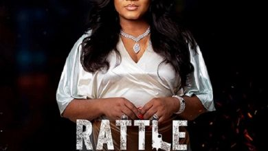 "Photo of Actress Omotola is angry over new ""Rattle Snake"" movie"