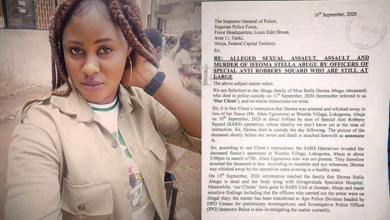 Photo of (Exposed) True Story of Stella Ifeoma Abugu Allegedly Killed by SARS