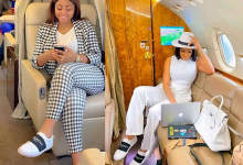 Photo of Alleged Affair: Regina Daniels and Chika Ike Seen wearing similar shoes