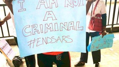 Photo of Photos as Nigerians protest in Lagos
