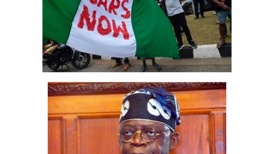 Photo of Tinubu- Stop #EndSARS Protests Now