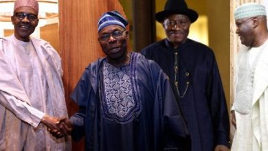 Photo of BREAKING: Buhari in cruial meeting with Obasanjo, Jonathan and other ex-presidents