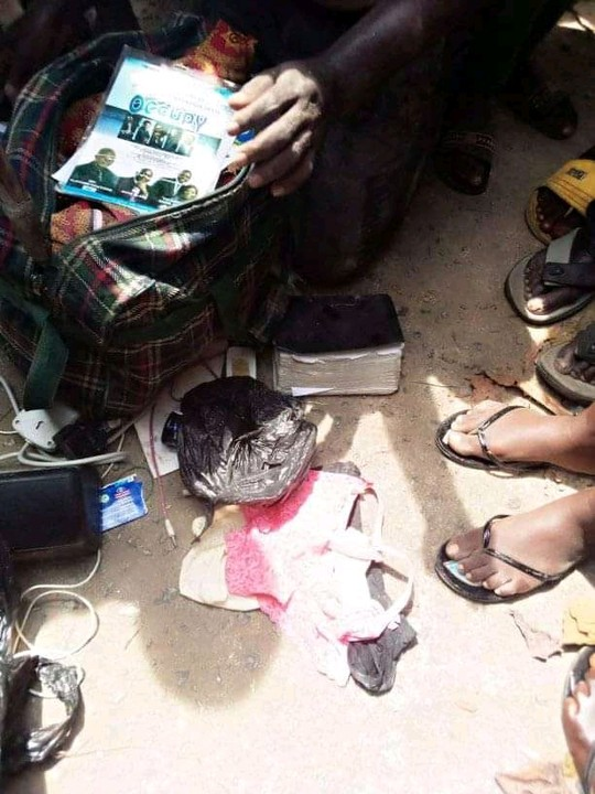 NAIJA.FM Pastor caught with female photographs, undies in Bayelsa