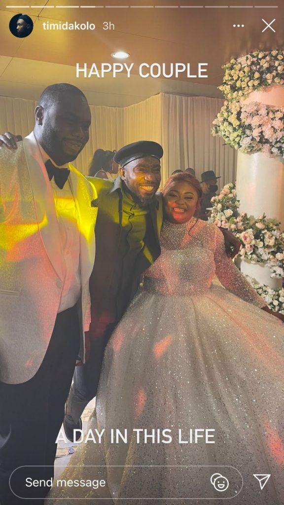NAIJA.FM WOW! Timi Dakolo Crashes Abuja Wedding, Gives Free Performance Timi dakolo