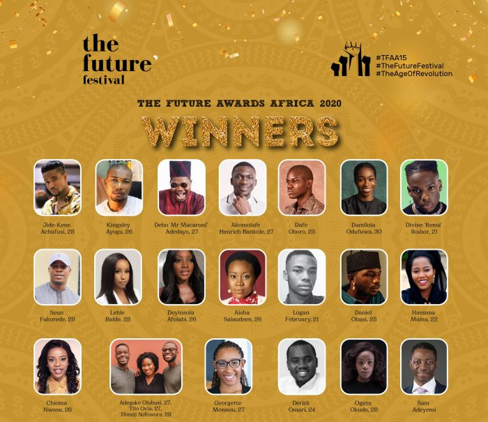 NAIJA.FM Sam Adeyemi, Debo Macaroni, Rema, Others Win Future Awards Future awards