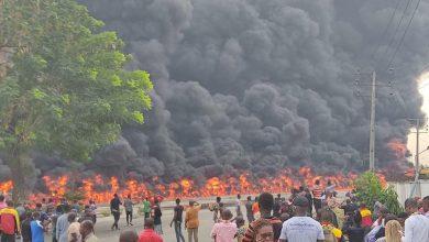 petrol tanker explosion in apapa