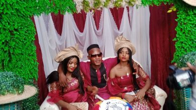 NAIJA.FM Man Marries Twin Sisters Because One Couldn't Live Without The Other Twin sisters