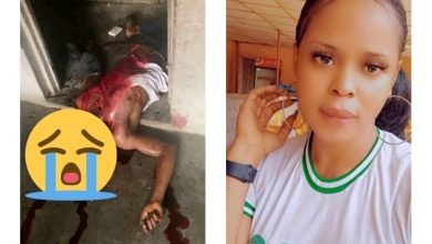 NAIJA.FM Female Corps Member Stripped And Beaten For Allegedly Killing A Young Man Female corps member