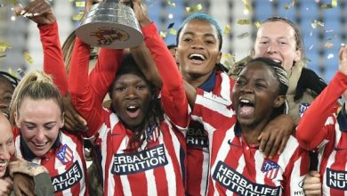 NAIJA.FM Super Falcon Star, Ajibade Helps Atletico Madrid Win Spanish Women's Super Cup Title Spanish Women's Super Cup